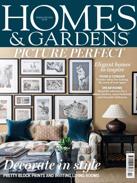 homes gardens february 2017 kate arbuthnott. Black Bedroom Furniture Sets. Home Design Ideas